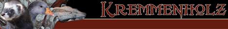 Banner von Frettchen vom Kremmenholz